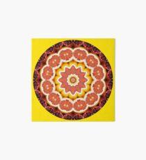 Grapefruit and Pomagranate Mandala Art Board