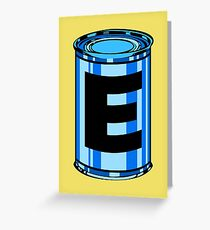 Energy Tank Greeting Card