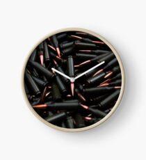 Bullets Clock