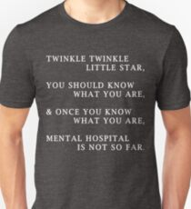 Funny Humorous Design T-Shirt Song Saying Comical Tee Quote T-Shirt
