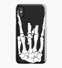 Skeleton Rocker Hand iPhone Case/Skin