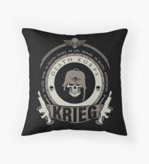 KRIEG - BATTLE EDITION Throw Pillow