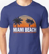 Miami Paradise Beach TShirt Maimi Beach Sun Sand T-Shirt T-Shirt