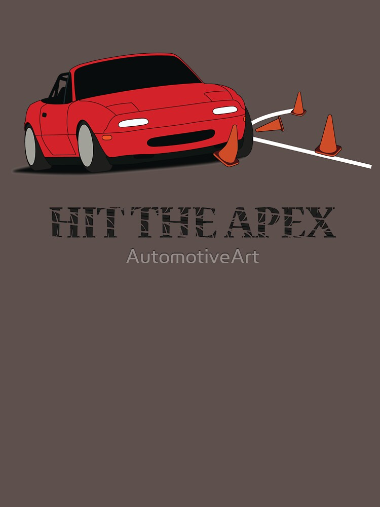 Hit The Apex by AutomotiveArt