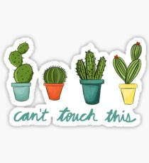 Can't Touch This Cacti Sticker