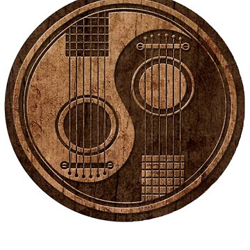 Wooden Bass Guitar T Shirt - Music Pulse, Notes, Clef, Frequency, Wave, Sound, Dance by Jclee4