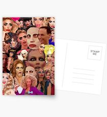 Alyssa Edwards Collage  Postcards