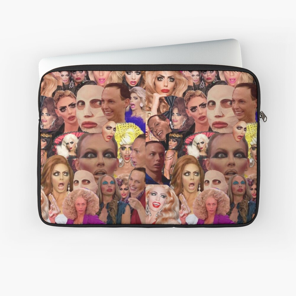 Alyssa Edwards-Collage Laptoptasche