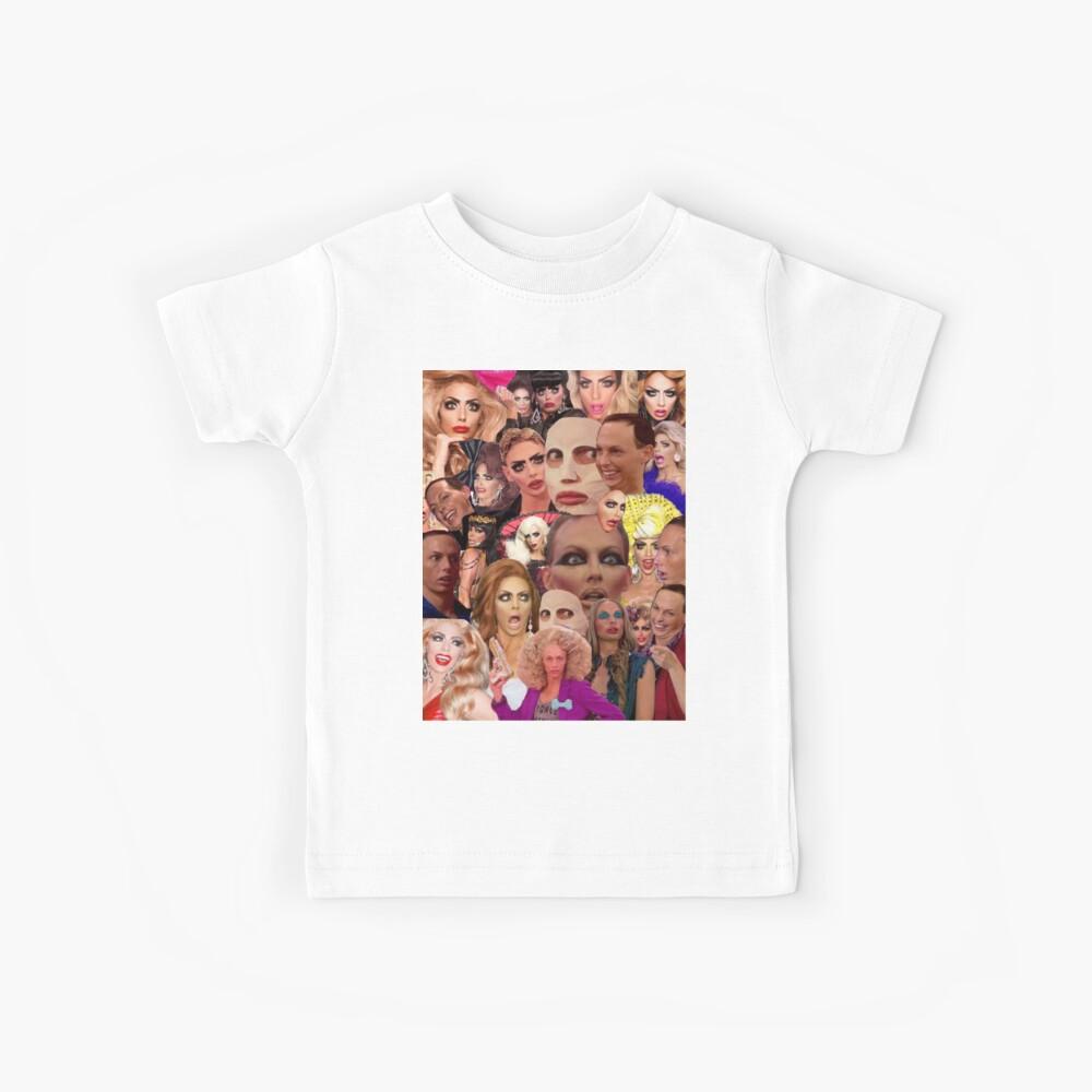 Alyssa Edwards-Collage Kinder T-Shirt