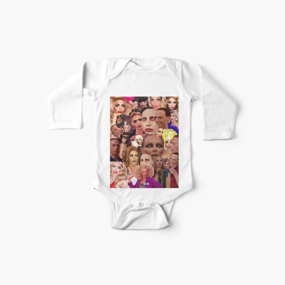 Alyssa Edwards-Collage Baby Body