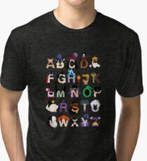 Evil-phabet Tri-blend T-Shirt
