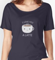 Funny and Kawaii Coffee Pun  Women's Relaxed Fit T-Shirt