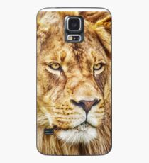 Lion-King of the Jungle Canvas Print, Photographic Print, Art Print, Framed Print, Metal Print, Greeting Card, iPhone Case, Samsung Galaxy Case, iPad Case, Throw Pillow, Tote Bag, Case/Skin for Samsung Galaxy