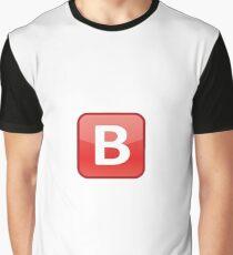 B Emoji (What's Poppin' B) Graphic T-Shirt
