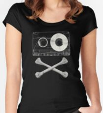 Pirate Music Women's Fitted Scoop T-Shirt