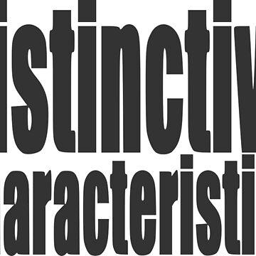 "Nickname ""distinctive characteristics"" by Grobie"