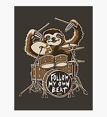 Follow my own beat Photographic Print
