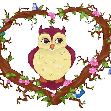 Owl  by GroovyGecko