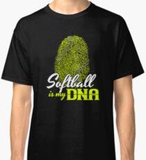 Softball is my DNA T Shirt Classic T-Shirt