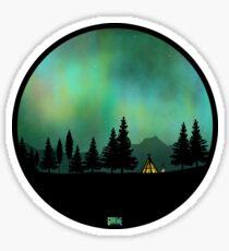 Pegatina Aurora boreal