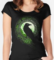 Raven Viking Women's Fitted Scoop T-Shirt