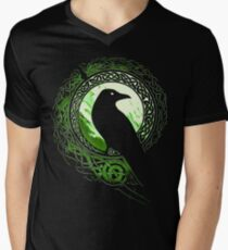 Raven Viking Men's V-Neck T-Shirt