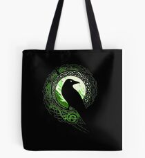 Raven Viking Tote Bag
