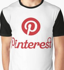 Pinterest-Logo Grafik T-Shirt