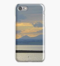 A Mellow Sunset Over Inch Island..................................Ireland iPhone Case/Skin