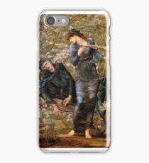 The Beguiling of Merlin E, dward Burne-Jones iPhone Case/Skin