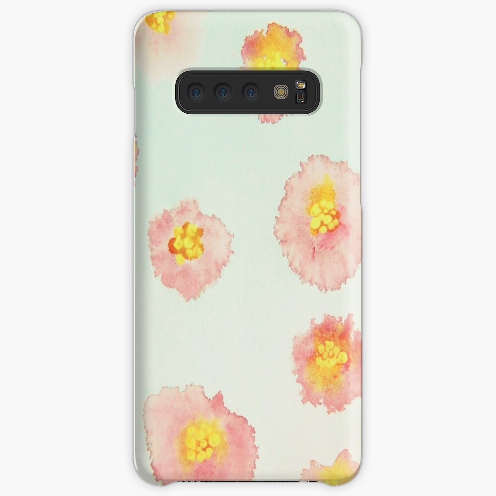 Red Posies Cases & Skins for Samsung Galaxy