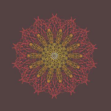 Fire Mandala by Haizeah