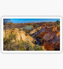 The Murray River at Renmark Sticker