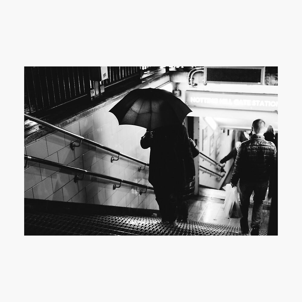 NOTTING HILL GATE, LONDON - 2016 Photographic Print