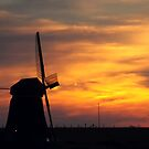 The Big Mill at Dawn by Jo Nijenhuis