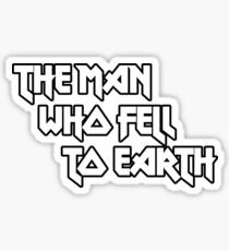 THE MAN WHO FELL TO EARTH - David Bowie Sticker