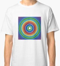 Happy Rainbow Mandala Classic T-Shirt