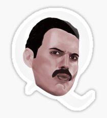 Queen Freddie Sticker