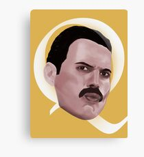Queen Freddie Canvas Print