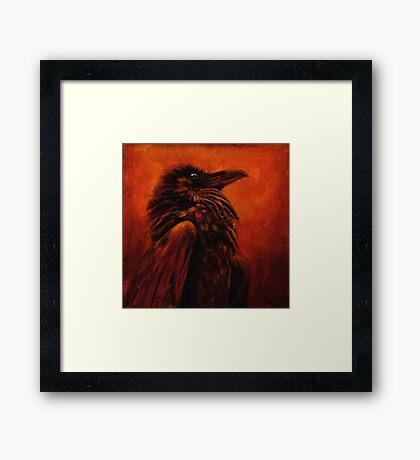 Raven Frees the Light Framed Print