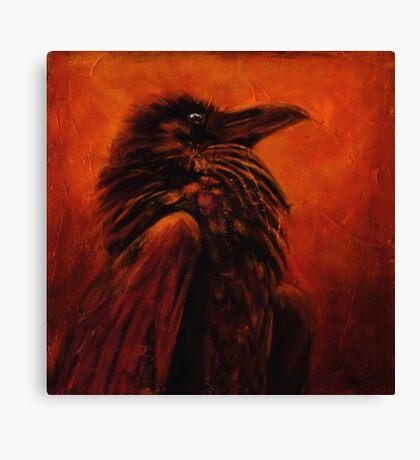 Raven Frees the Light Canvas Print