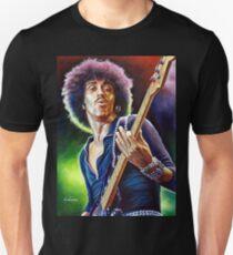 Lynott Thin Lizzy portrait painting T-Shirt