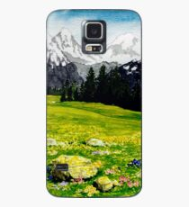 THE SWISS ALPS Case/Skin for Samsung Galaxy