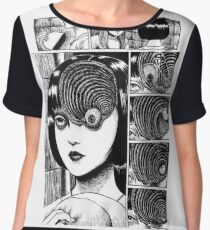 Uzumaki  Women's Chiffon Top