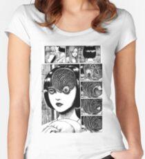 Uzumaki  Women's Fitted Scoop T-Shirt
