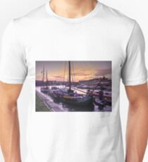 Bristol Harbour Sunset  Unisex T-Shirt
