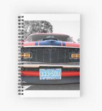 Full Frontal - 1970 Mach 1 Mustang Spiral Notebook