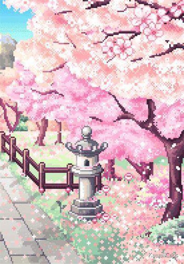 Japan Pixel by KawaiiCaps