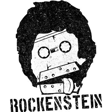 Rockenstein Music Tape Monster by Fabunite
