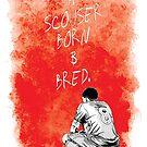 Steven Gerrard Artwork by Sean Biggs